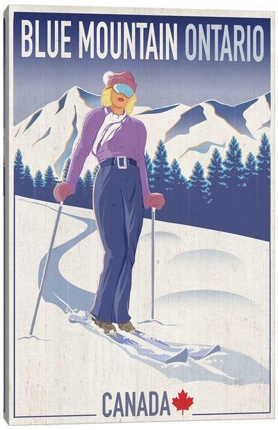 Blue Mountain II Canvas Art Print