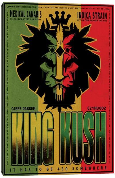 King Kush Canvas Art Print