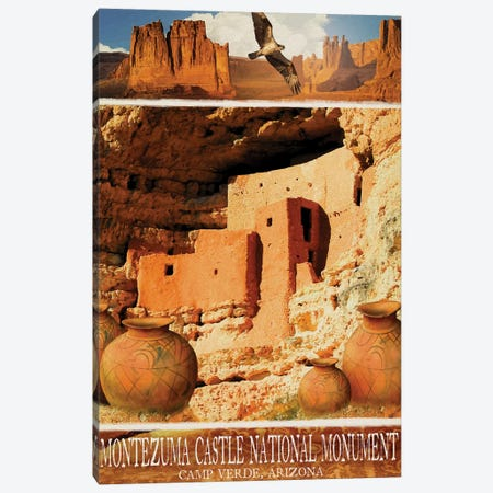 Navajo Canvas Print #ORT138} by Old Red Truck Canvas Artwork