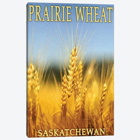Praire Wheat, Canvas Print #ORT146} by Old Red Truck Canvas Art