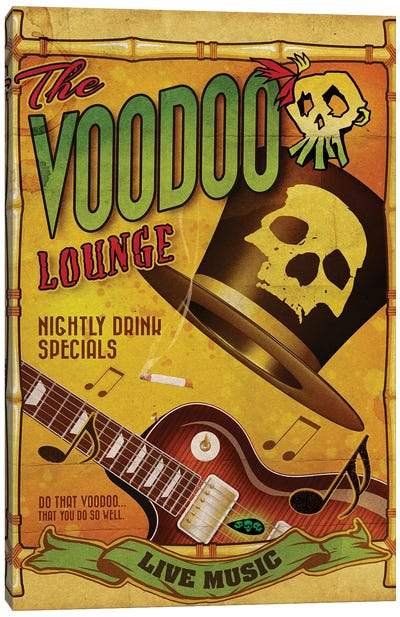 The Voodoo Lounge Canvas Art Print