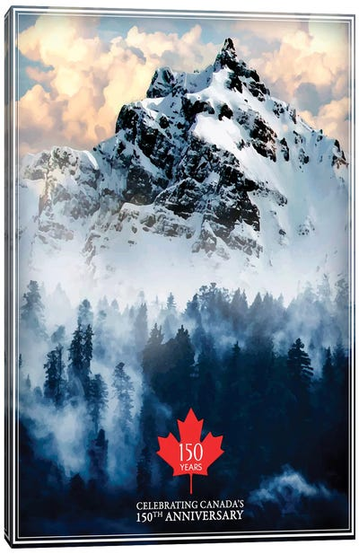 Canada's 150th Anniversary Canvas Art Print
