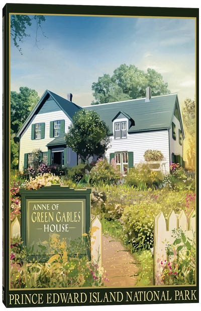 Anne Of Green Gables House Canvas Art Print