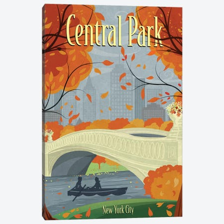 Central Park Canvas Print #ORT22} by Old Red Truck Canvas Wall Art