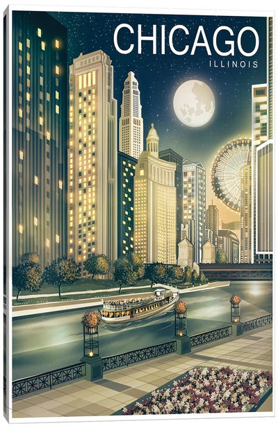 Chicago II Canvas Art Print