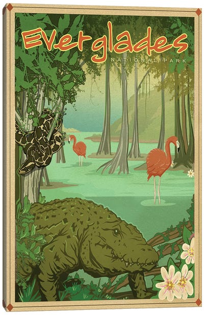 Everglades Canvas Art Print