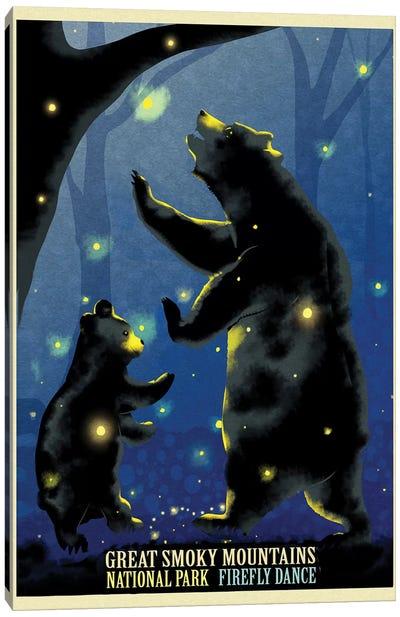 Firefly Dance Canvas Art Print