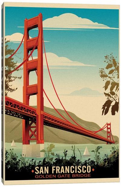 Golden Gate Bridge, Daybreak Canvas Art Print