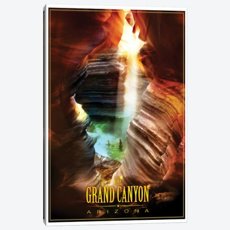 Grand Canyon Canvas Print #ORT36} by Old Red Truck Canvas Art