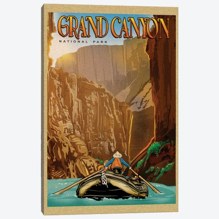 Grand Canyon River Ride Canvas Print #ORT37} by Old Red Truck Canvas Artwork