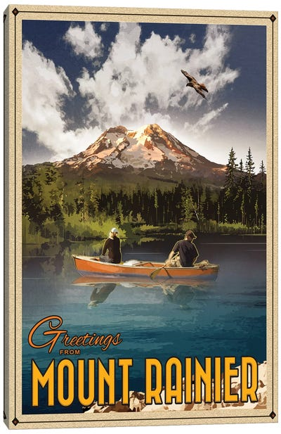 Mt. Rainier Canvas Art Print