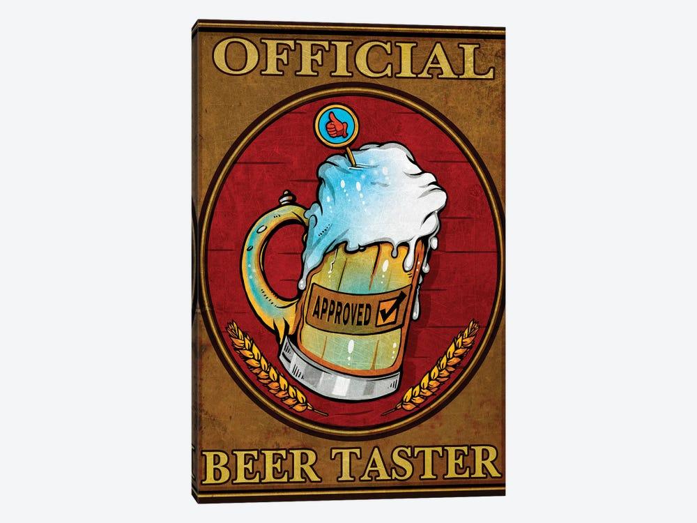 Beer Taster, Metal by Old Red Truck 1-piece Art Print