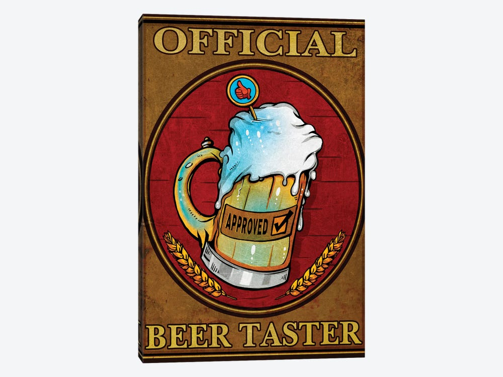 Beer Taster, Metal by Old Red Truck 1-piece Art Print