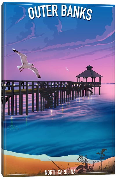 Outer Banks Canvas Art Print