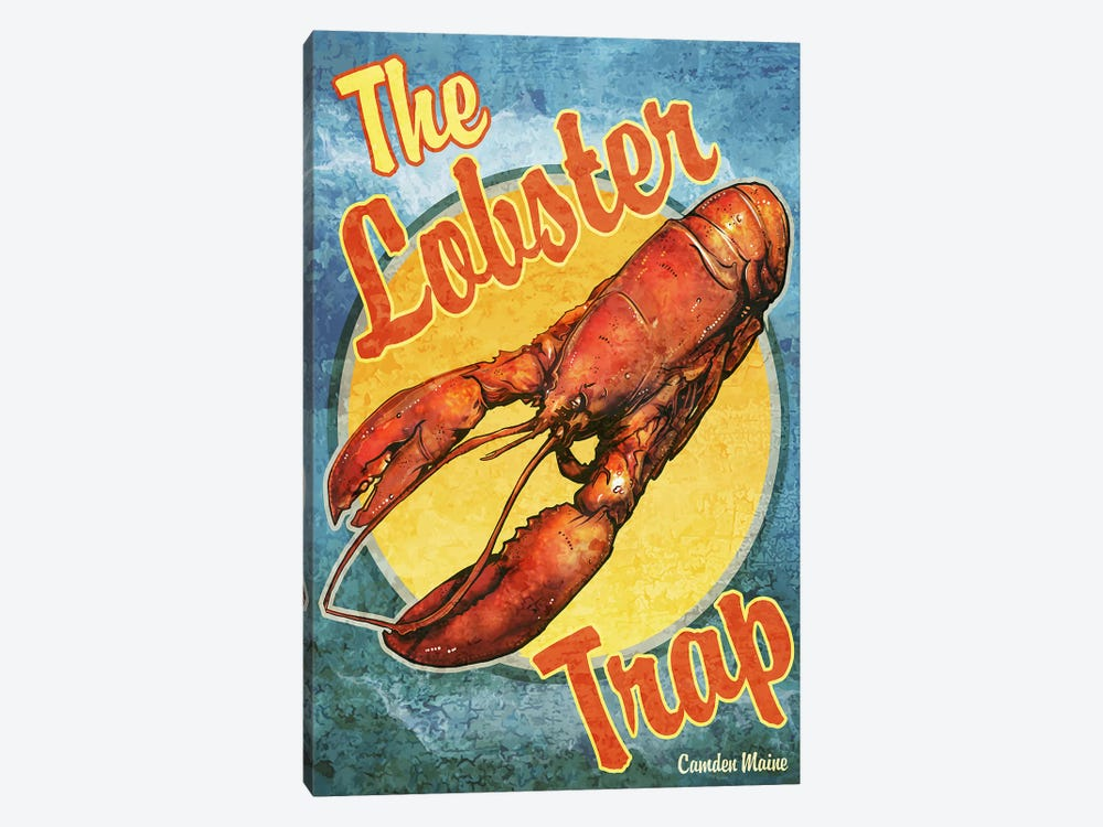 The Lobster Trap by Old Red Truck 1-piece Canvas Wall Art