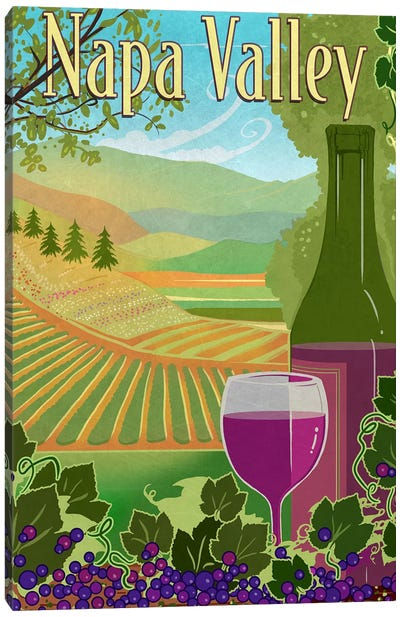 Wine Country Canvas Art Print