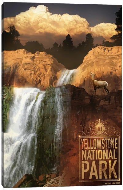 Yellowstone National Park Canvas Art Print