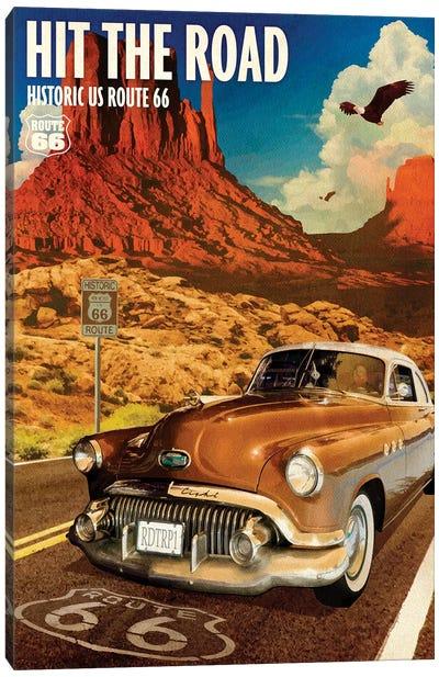 66 Desert Cruise Canvas Art Print