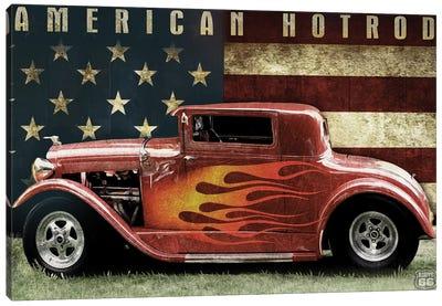 American Hot Rod Canvas Art Print
