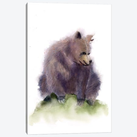 Bear Canvas Print #OSF14} by Olga Shefranov Canvas Print