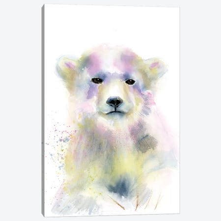 Bear Cub Canvas Print #OSF16} by Olga Shefranov Canvas Print