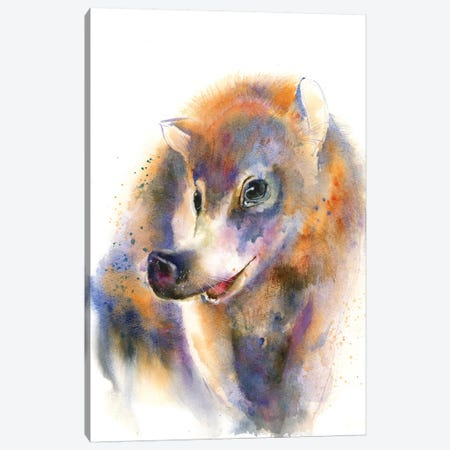 Snout and About Canvas Print #OSF311} by Olga Shefranov Canvas Wall Art