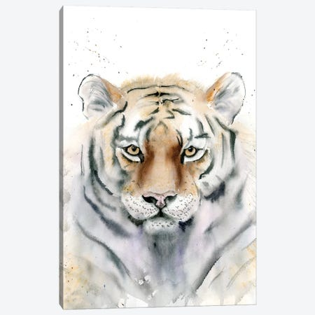 Tiger III Canvas Print #OSF331} by Olga Shefranov Canvas Artwork