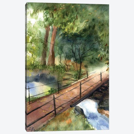 Bridge II Canvas Print #OSF50} by Olga Shefranov Canvas Wall Art