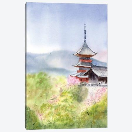 Asian Landscape I Canvas Print #OSF6} by Olga Shefranov Canvas Art Print