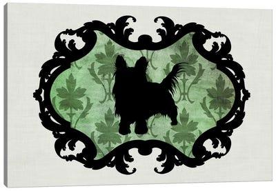 Yorkshire Terrier (Pink&Black) II Canvas Art Print