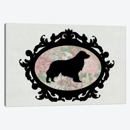 Retriever (Black&Pink) II Canvas Print #OSP64} by 5by5collective Canvas Artwork