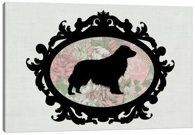 Retriever (Black&Pink) II Canvas Art Print