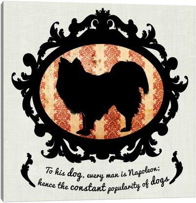 Australian Terrier (Orange&Black) II Canvas Art Print
