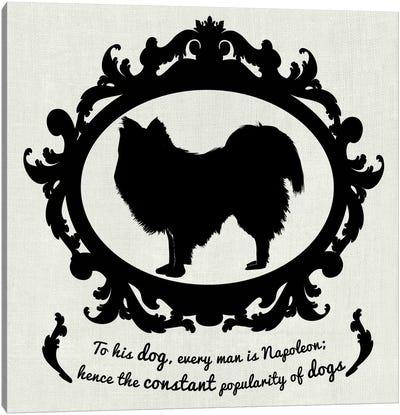 Australian Terrier (Black&White) Canvas Art Print
