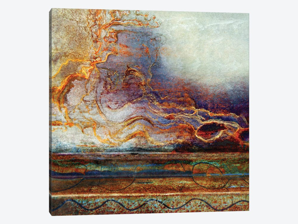 Spirits Of The Storm by LuAnn Ostergaard 1-piece Art Print