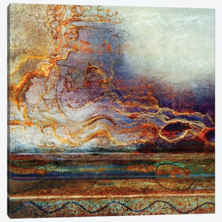 Spirits Of The Storm Canvas Print #OST118} by LuAnn Ostergaard Canvas Wall Art