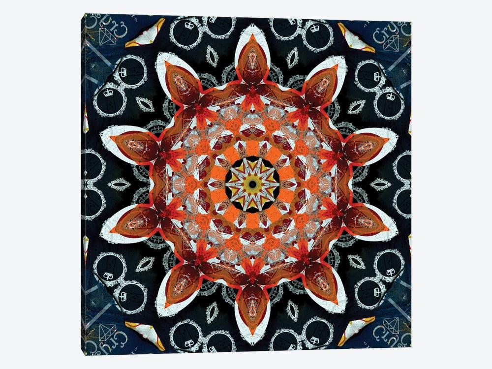 Akai Hi Mandala II by LuAnn Ostergaard 1-piece Art Print