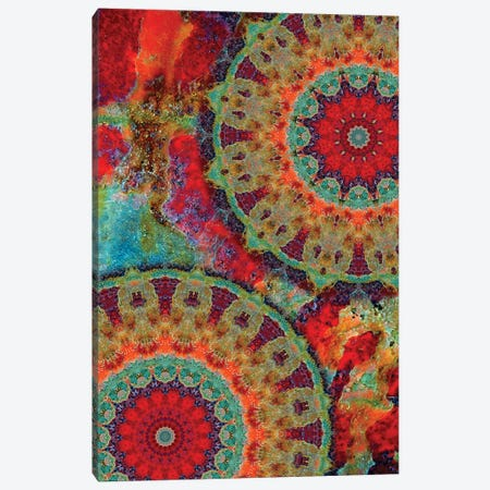 Flair Mandala I Canvas Print #OST34} by LuAnn Ostergaard Canvas Print