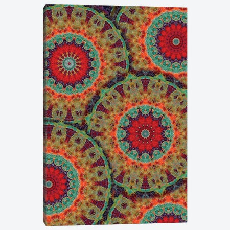 Flair Mandala II Canvas Print #OST35} by LuAnn Ostergaard Art Print