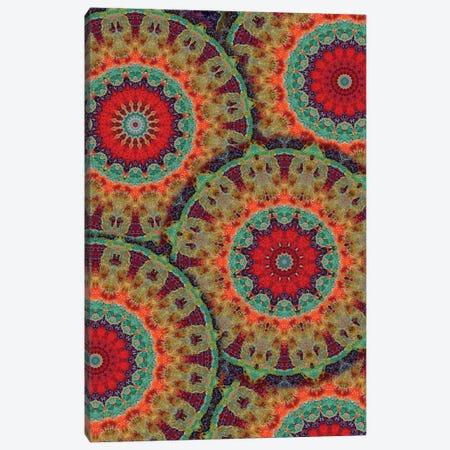 Flair Mandala II 3-Piece Canvas #OST35} by LuAnn Ostergaard Art Print
