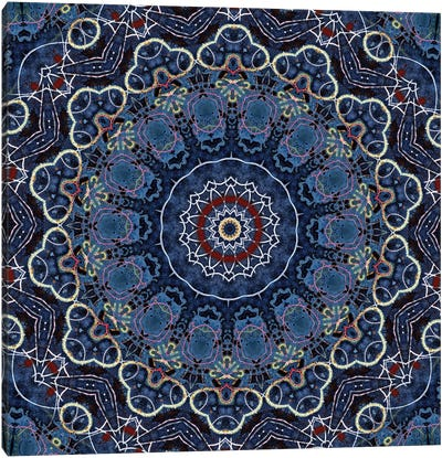Ao Yake Mandala Canvas Art Print
