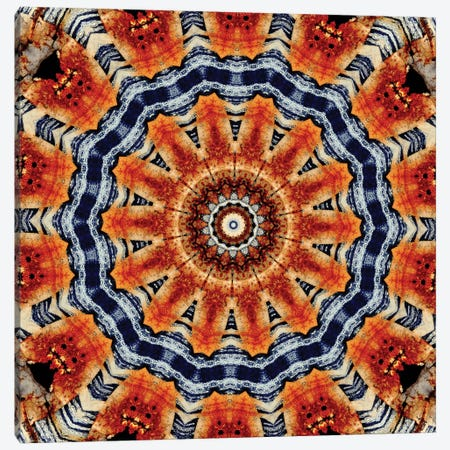 Kuren Mandala Canvas Print #OST65} by LuAnn Ostergaard Canvas Artwork