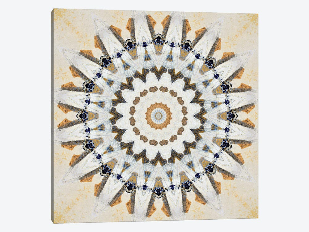Kurimu Mandala IV by LuAnn Ostergaard 1-piece Art Print