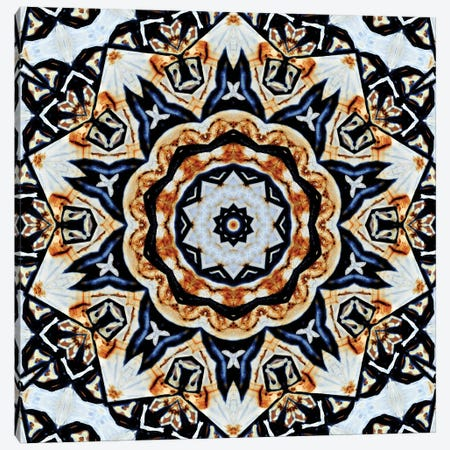 Oceano Mandala Canvas Print #OST85} by LuAnn Ostergaard Canvas Art