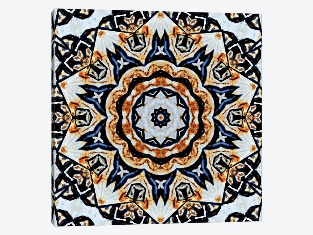 Oceano Mandala by LuAnn Ostergaard 1-piece Art Print