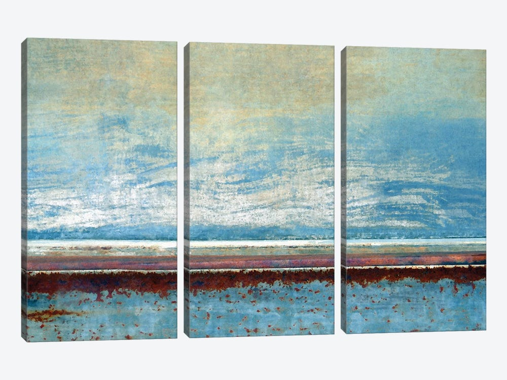 Peaceful Sojourn by LuAnn Ostergaard 3-piece Canvas Print