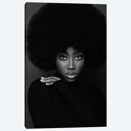 Afro Beauty Canvas Print #OTG36} by Morgan Otagburuagu Canvas Print