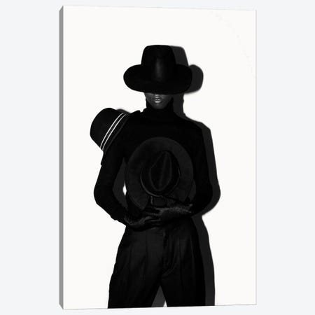 A Man In Black Is A Man On A Mission Canvas Print #OTG3} by Morgan Otagburuagu Canvas Art