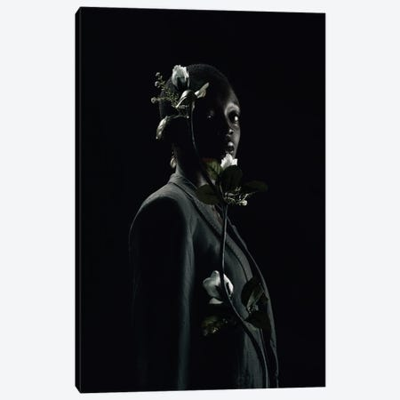 She Is Black She Is A Flower Canvas Print #OTG5} by Morgan Otagburuagu Canvas Art Print