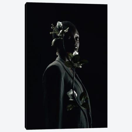 She Is Black She Is A Flower Canvas Print #OTG5} by Morgan Otagburuagu Canvas Art Print